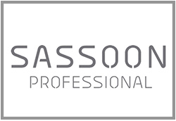 sassoon logo website - met lijn